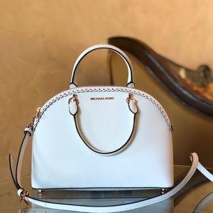 NWT Michael Kors LG Emmy Satchel Handbag